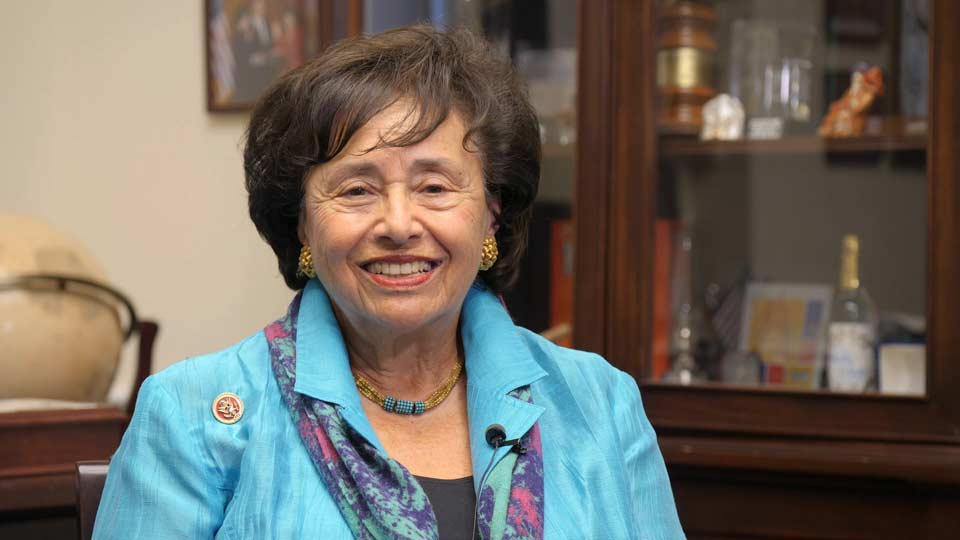 Representative Nita Lowey Video Message